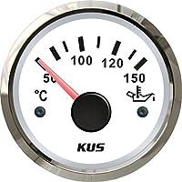 """Kus Temperatura de aceite medidor de temperatura 50–150°C con retroiluminación 2""""(52mm) 12V/24V"""
