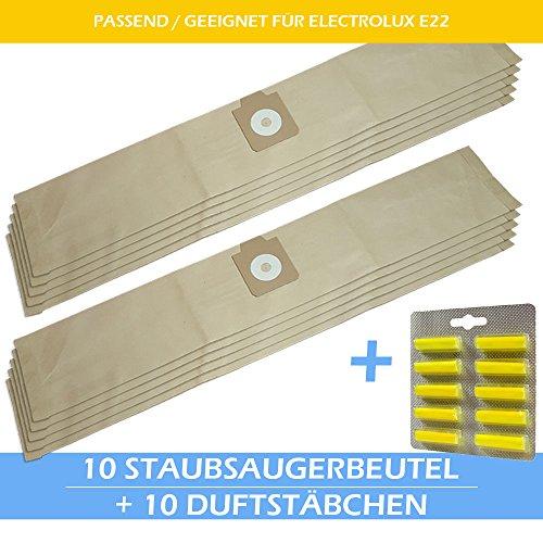 10 Staubsaugerbeutel + 10 Duftstäbchen Für ELECTROLUX: UZ 940, UZ940 S2, UZ 945, UZ945 Profi Power, Z 940, Z940, Z 950, Z950, Z 951, Z951, Z 951 Pro, Z 955, Z955, Z 970, Z970,Z 990, Z990