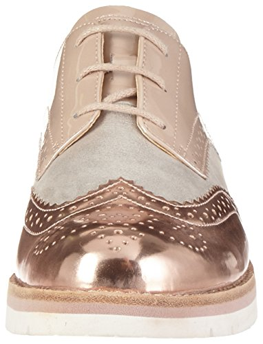 Gabor Shoes 62.558, Scarpe Brogues Donna Beige (lt.nude/rame/puder 23)