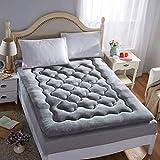 CVNJSKDKH slaapmat Tatami vloermat - inklapbare Roll Up zachte dikke mat, traditionele Futon Mat, studentenslaapzaal matras