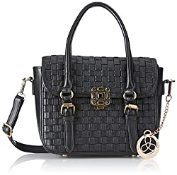 Ladida Ladida Collection Womens Satchel (Black) (2017-21 BLACK)