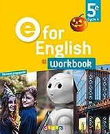 E for English 5e (éd.2017) Workbook - version papier