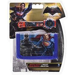 CLOCK SUPERMAN AND BATMAN SUPERHEROES WRIST DIGITAL PORTFOLIO - WA16016