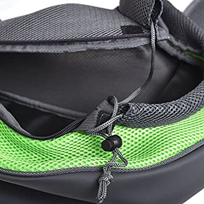 aokur Pet Sling Dog Cat Kitty Carry Carrier Outdoor Travel Oxford Single Shoulder Bag for Yorkie, Chihuahua etc 4