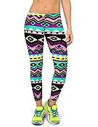 99b326a3815b Fulltime(TM) High Waist Fitness Yoga Sport Pants Printed Stretch Cropped  Leggings