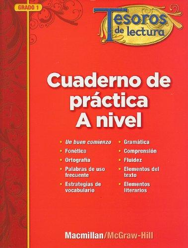 Tesoros de Lectura Cuaderno de Practica, A Nivel, Grade 1