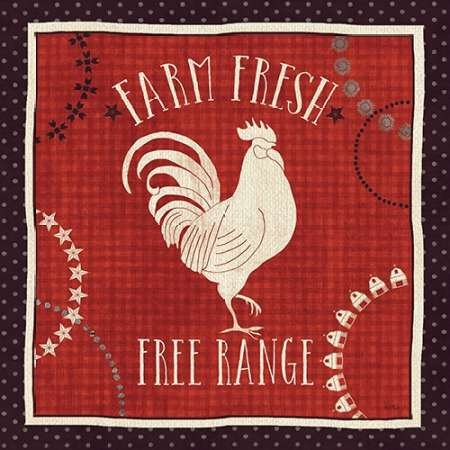 Feeling-at-home-Kunstdruck-Little-Red-Farm-I-cm30x30-Poster-fuer-Rahmen -