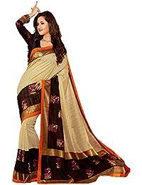 Sarees(Welcome Fashion New Collection 2018 Bhagalpuri Cotton Silk Sarees For Women Party Wear Offer Designer Sarees...