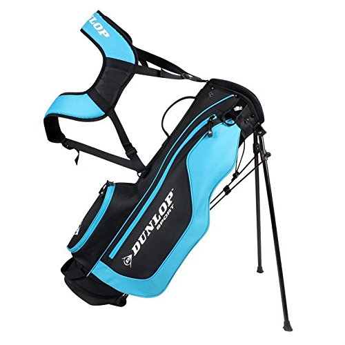 Dunlop Stand Bag 9 to 11 Junior Dual Strap Golf Clubs Carry Storage Case