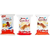 Kinder Ferrero mit Getreide Kuchen Testpaket italienisch brioche kekse set