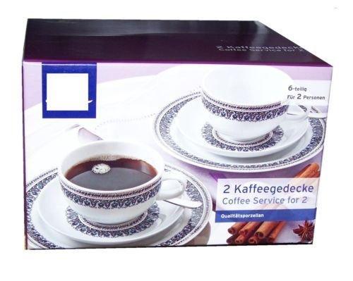 TCM Tchibo 2 Kaffee Gedecke Orient