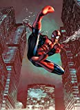 Fototapete Fantapete Marvel SPIDER MAN JUMP 184x254 Comic-Held Spinne Kinofilm super