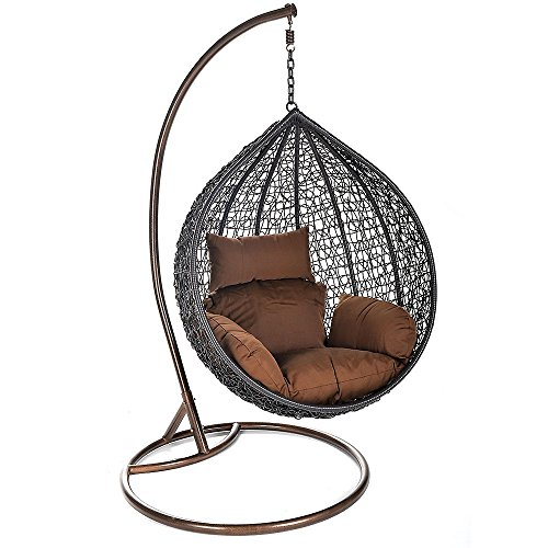 Home Deluxe Polyrattan Hängesessel | Cielo