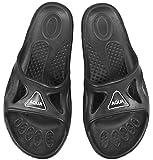 Aqua Speed Set - Vento Ciabatte da Doccia + Asciugamano in Microfibra | Uomini | Pantofole da Bagno | Ciabatte da Spiaggia, Taglia:46, Colore:Vento - 07