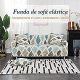 SolguayTM Funda Elástica Universal para Sofá, 16 Estilos Tres PLAZAS (185-230CM) ROMBO