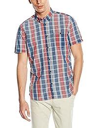 TOM TAILOR Herren Freizeithemd Floyd Cool Dobby Shirt
