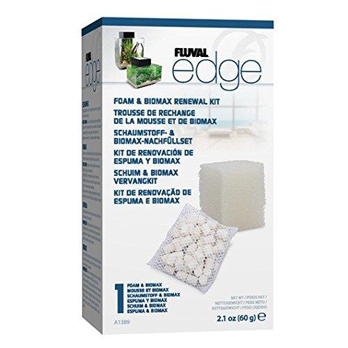 fluval edge zubehoer Fluval Edge Schaumstoff und Biomax Nachfüllset