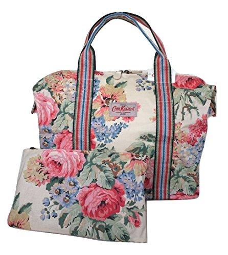 Cath Kidston Shopper Bag Foldaway Bloomsbury Bouquet Cream