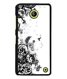 Fuson Designer Back Case Cover for Microsoft Lumia 630 (heart arrow I love you because I need you)