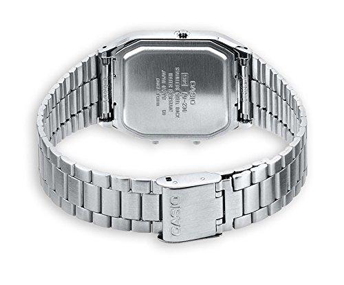 Casio Unisex- Armbanduhr Analog – Digital Quarz Retro Dual - 4