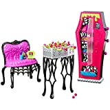 Monster High - Social Spots Student Lounge - Doll Playset Accessory Toy