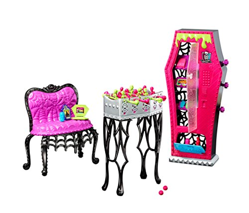 Monster High - Studenten Lounge / Social Sports Zubehör Set