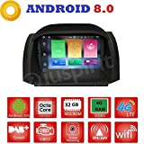 Android 8.0GPS DVD USB SD Wlan Bluetooth Mirrorlink Autoradio Navi Ford Fiesta 2012, 2013, 2014, 2015, 2016, 2017