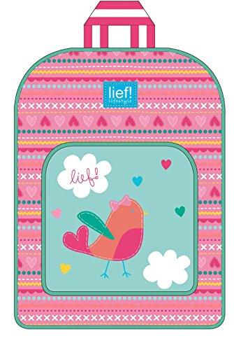 Lief! 440-6264 Birdsong Rucksack mit Vordertasche Girls
