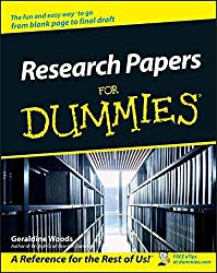 Research Papers For Dummies by Geraldine Woods (2002-07-05)