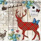 PPD Winter Collage Servietten
