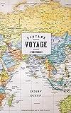 Voyage: Un carnet de notes ligné pour vos voyages et aventures  - Motif carte du monde- Style Vintage...