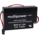MultiPower Blei-Akku für Motor-Taster (12V, 0,8Ah)