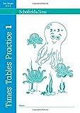 Times Tables Practice Book 1: KS1/KS2 Maths, Ages 5-8