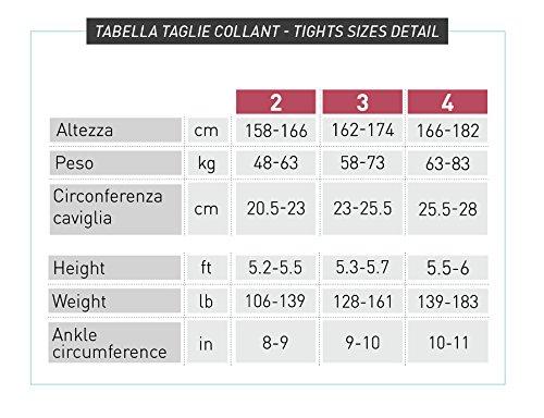 Collant 70 DEN a compressione graduata 12-17 mm Hg + caffeina dimagranti rassodanti favoriscono la circolazione Nudo
