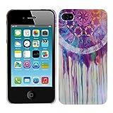 kwmobile Hülle für Apple iPhone 4 / 4S - Backcover Case Handy Schutzhülle Kunststoff - Hardcase...