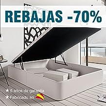 Canapé de Polipiel Abatible de Gran Capacidad. Color Blanco (90_x_180)