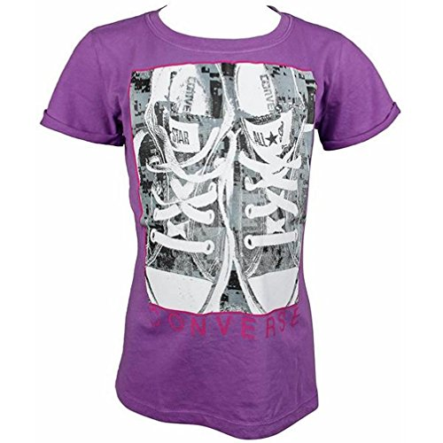 Converse T-Shirt Photo Real Sneakers - Washed Purple - 464260 (128)