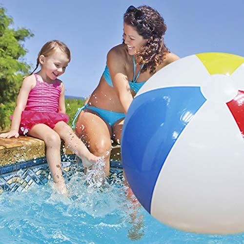 100 cm Riesigen Aufblasbaren Strand Ball Große DREI-Farbe Verdickt PVC Wasser Volleyball fußball Party Im Freien Kinder Spielzeug