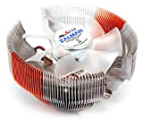 ZALMAN Computer Noise Prevention System with Blue LED Fan and Circular Pure Copper Heatsink CPU Cooler CNPS7000C-ALCU LED