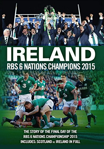 Ireland RBS 6 Nations Champions 2015 [DVD]