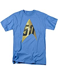 Star Trek - Mens 50Th Anniversary Delta T-Shirt