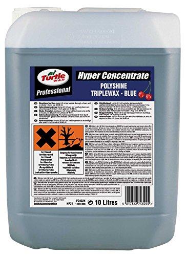 Turtle Wax fg4324hp21N Hyper Polyshine Triplewax, 10Liter, blau (Hyper Wax)