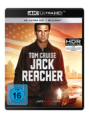 Jack Reacher (4K Ultra HD) (+ Blu-ray 2D)