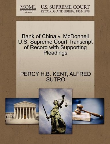 bank-of-china-v-mcdonnell-us-supreme-court-transcript-of-record-with-supporting-pleadings