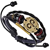 Best Bracelets For 4 - Young & Forever Zodiaco Constellation Genuine Leather Bracelet Review