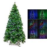 Signstek 180cm/6ft Christbaum, künstliche Dekoration Weihnachtsbaum (Kiefernnadel)