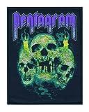 PENTAGRAM - Skulls Patch / Aufnäher