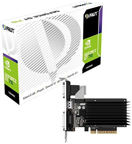 Palit NEAT7100HD06H GT710 1024MB Graphic Card Nvidia (PCI-e GDDR3, VGA/DVI/HDMI, 1x GPU)