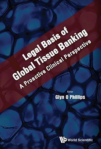 Legal Basis of Global Tissue Banking: A Proactive Clinical Perspective by Glyn O Phillips (2015-09-20)