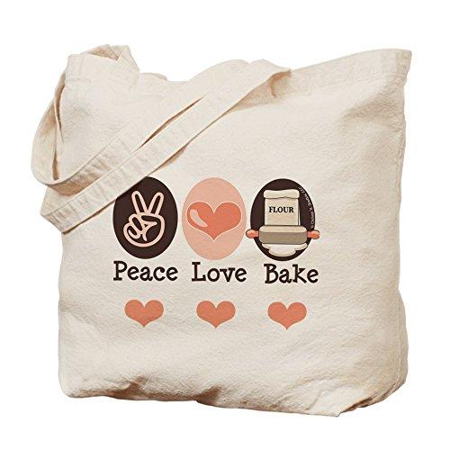 cafepress-pace-love-bake-bakers-baking-borsa-di-tela-naturale-panno-borsa-per-la-spesa